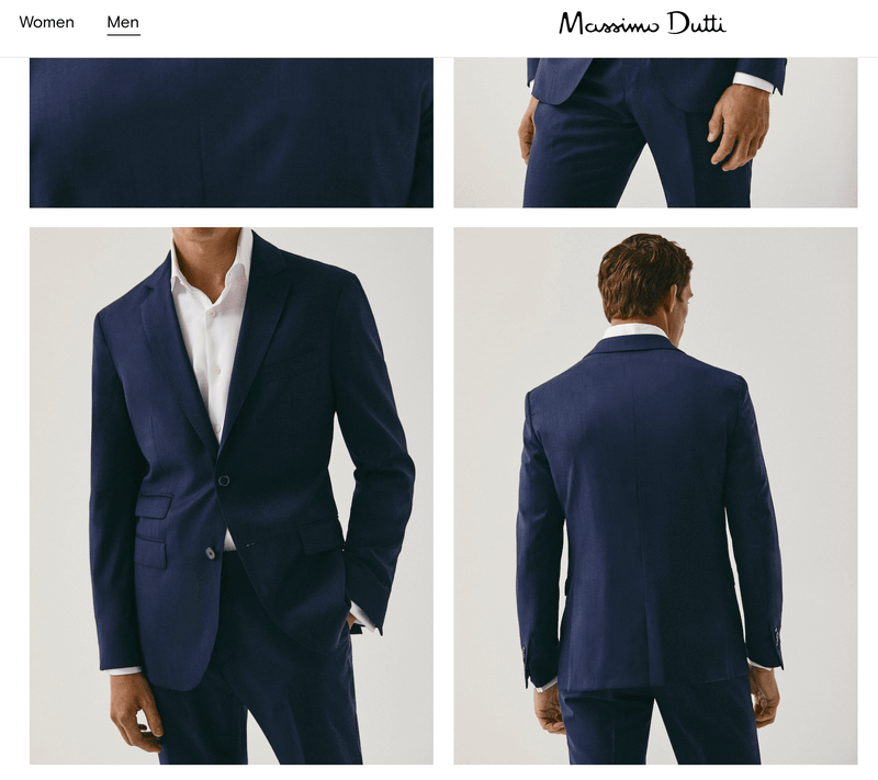 Massimo dutti 西裝