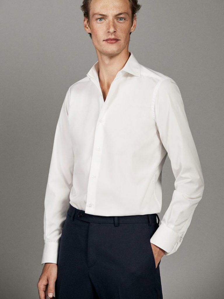 Massimo Dutti襯衫(白)
