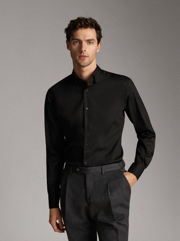 Massimo Dutti襯衫(黑)