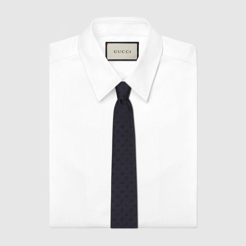 互扣式真絲領帶