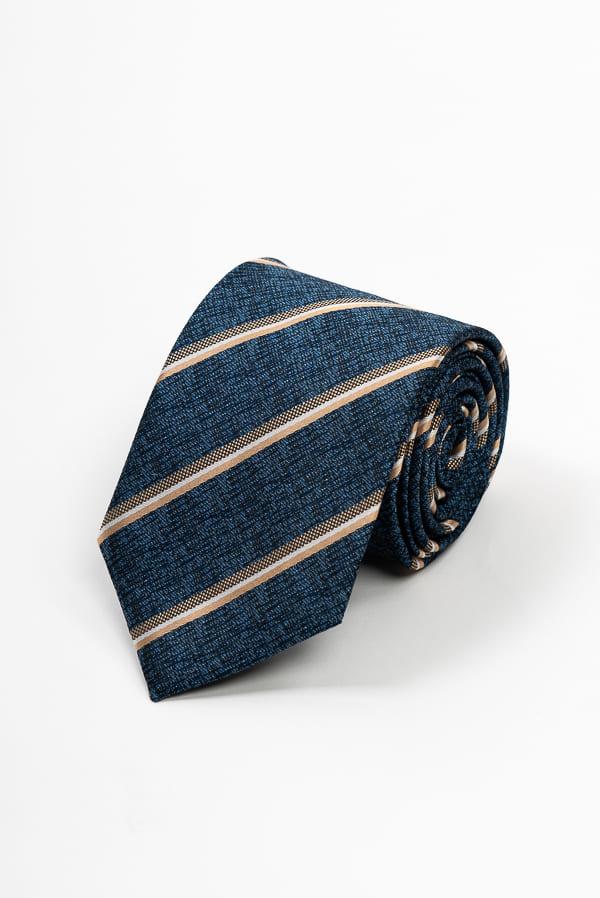 深藍斜紋領帶