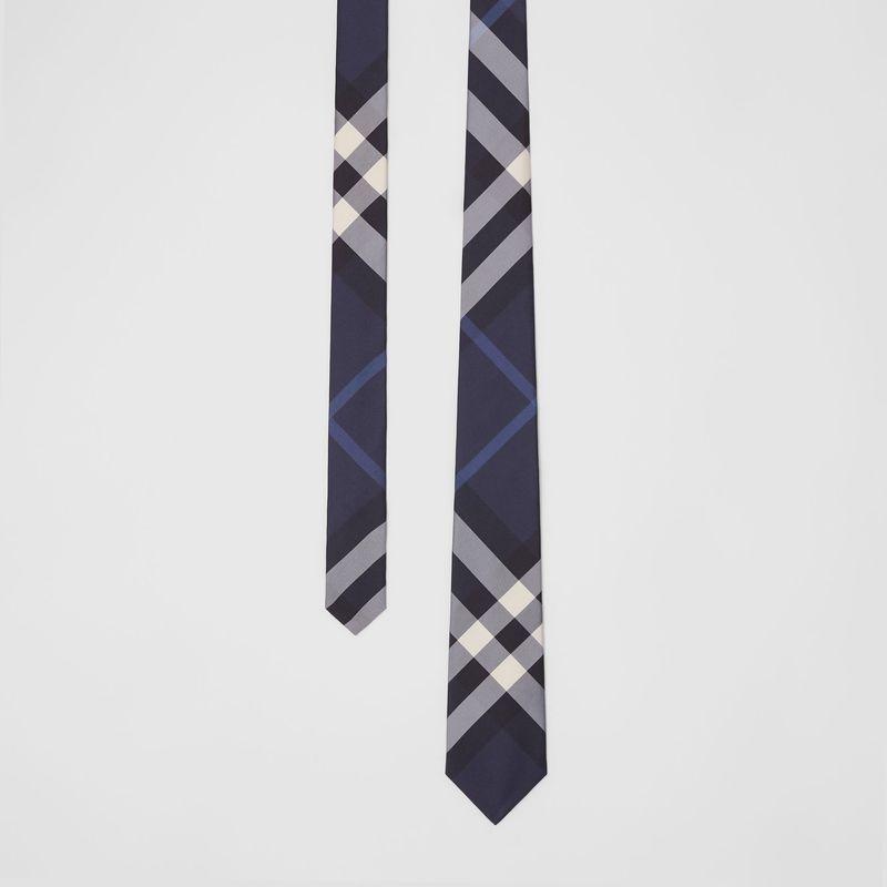 經典格紋真絲領帶