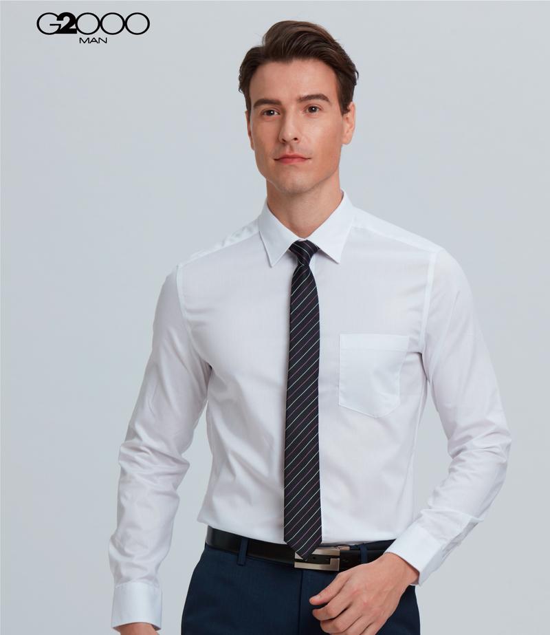 絲質條紋配襯領帶-黑色