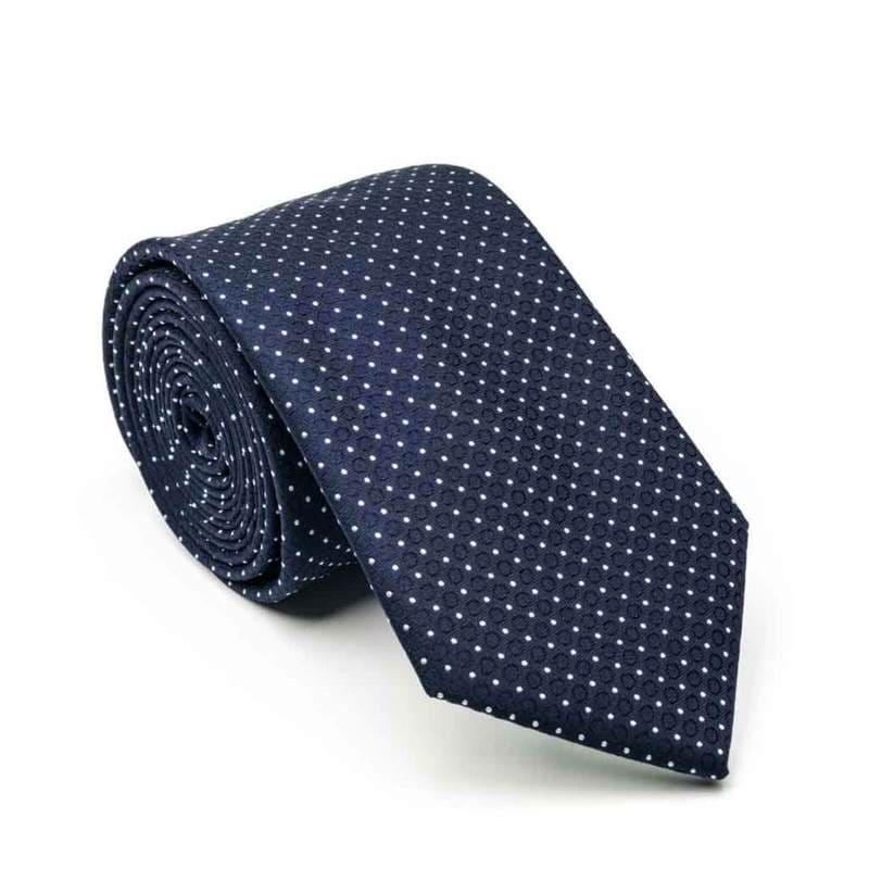 經典圓點領帶