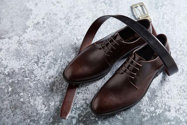 皮帶與皮鞋的搭配